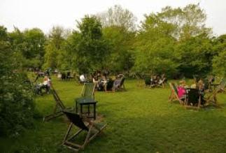The Orchard Tea Garden.