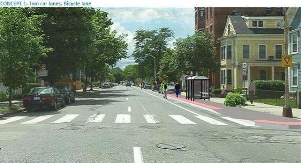 Western Avenue, Concept 1