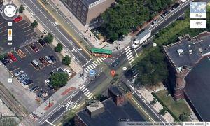 Massachusetts Avenue and Vassar Street, cambridge, Massachusetts, USA