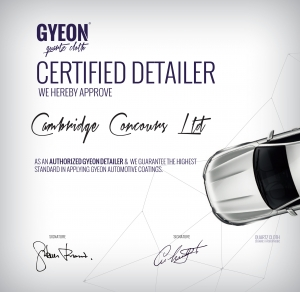 gyeon certified detailer