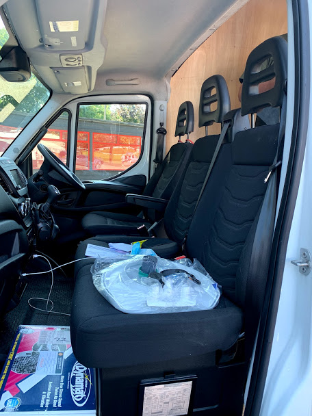 Iveco camper van interior trimming