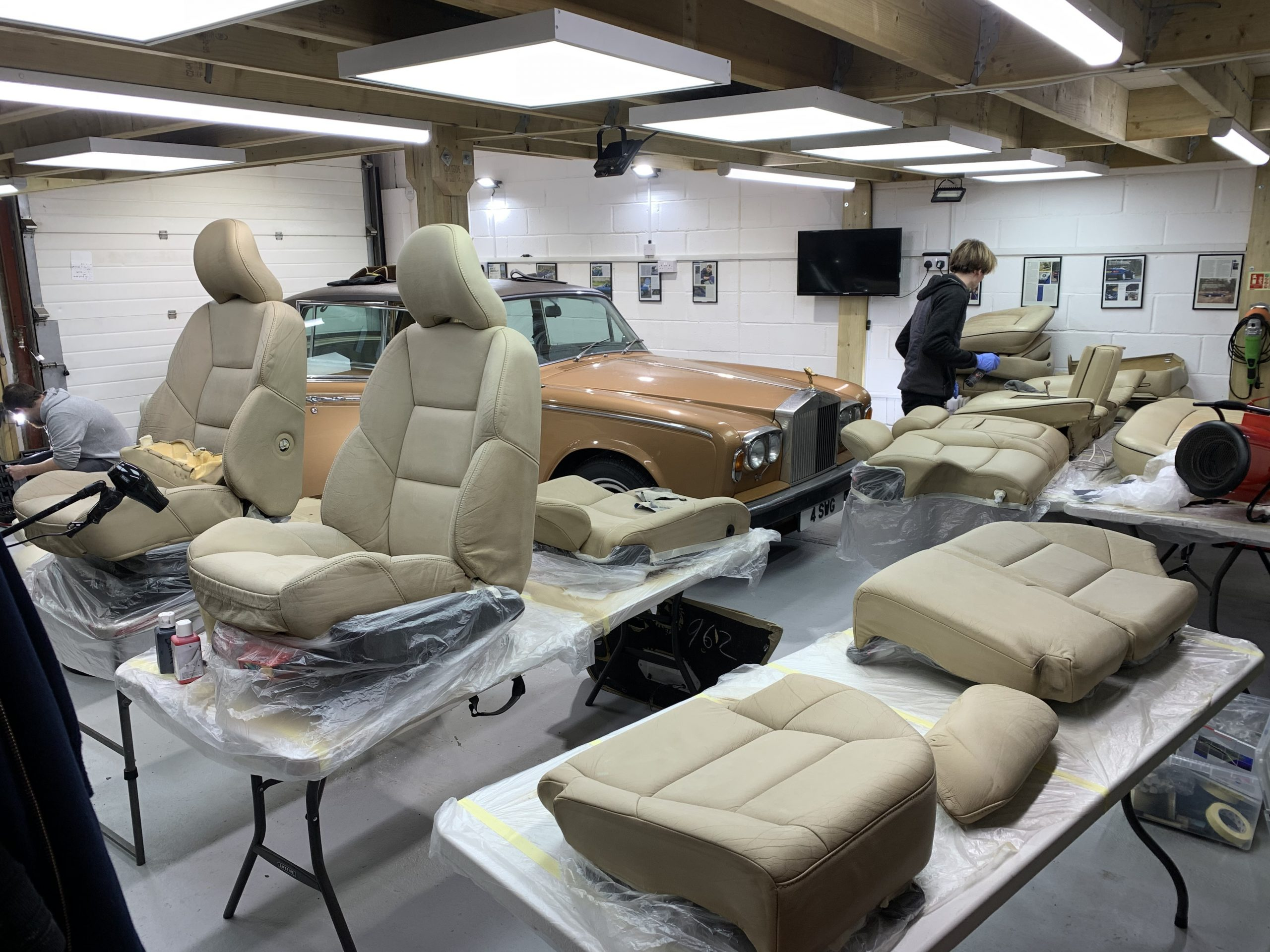 Rolls Royce Interior Restoration