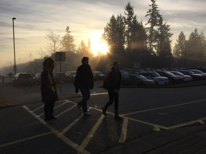 Glorious January morning at Cambridge