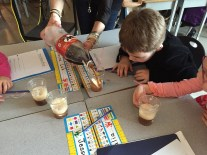 Best science lesson ever...teaching states of matter by making root beer floats.