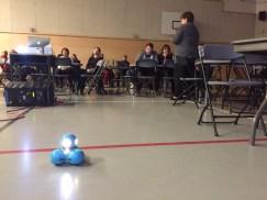 The Margetson's program Dash the robot