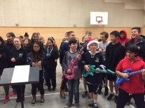 Preparing for our Winter Concert