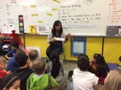 Learning about reading strategies in Grade 3