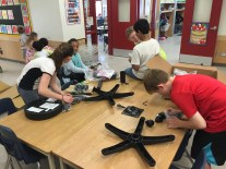Assembling learning lab seating