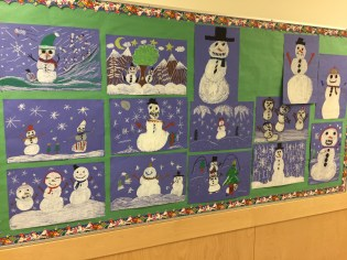 Snowy scenes
