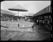 Interior Courtyard of Floreat Forum Shopping Centre, 1966 (Courtesy Battye Library BA1119)