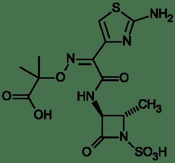 Aztreonam_structure