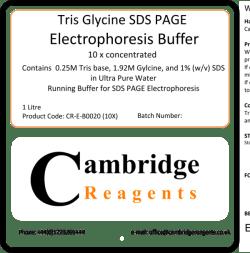 Tris-Glycine-SDS PAGE Buffer (10X)