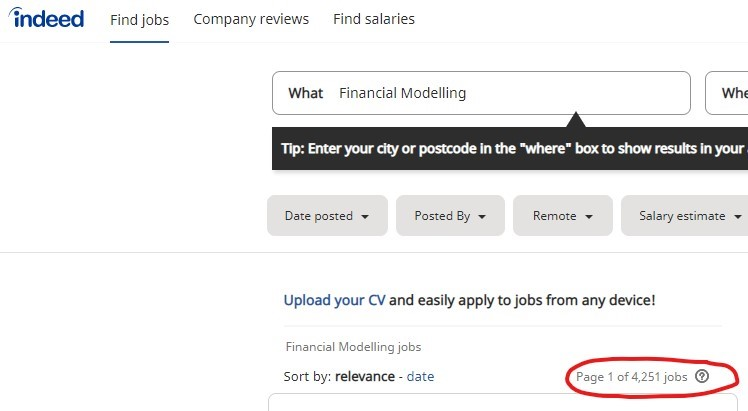 4,251 financial modelling jobs found on Indded!