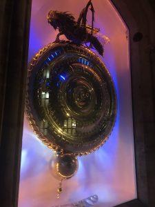 corpus clock at night