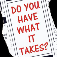 Do you have what it takes? (Everyday idioms in newspapers)