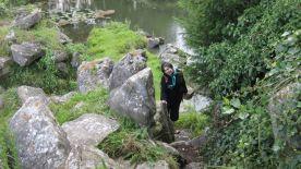 Norma exploring Chantilly