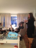 Saundra Norton reading