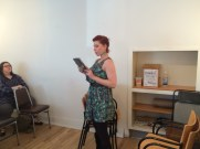 Michele Nereim read an excerpt of a larger piece.