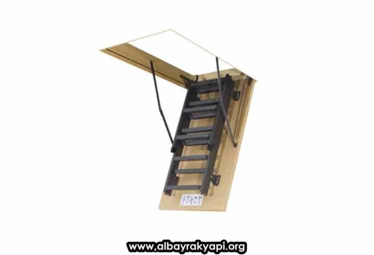 cati merdiveni 1 - Metal Çatı Merdiveni