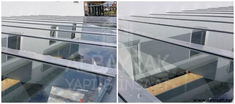 cam tavan ve cati uygulamasi - Cam Çatı Sistemleri - Skylight Çatı Sistemleri - Polikarbon Çatı Kaplama