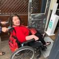Photo of Anna Alston in her wheelchair