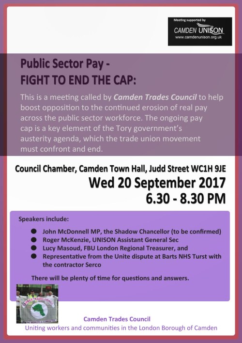 camden trades council A
