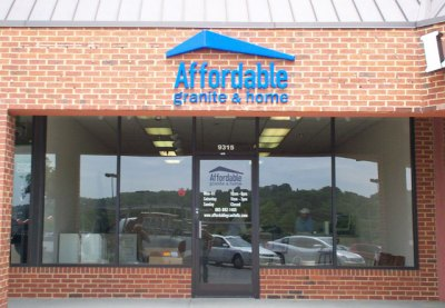 Affordable-Granite-letters