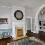 Living room at 606 N Broad St, West End.