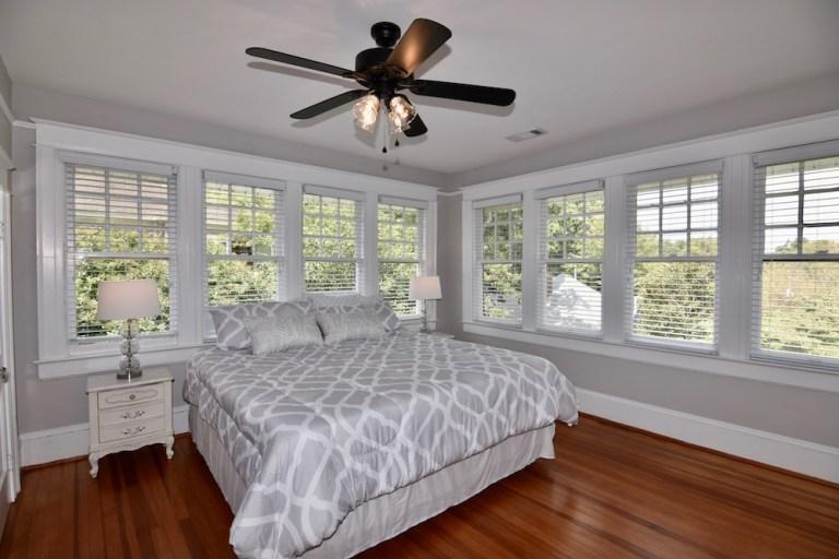 Main bedroom at 606 N Broad St, West End.