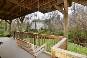 866 Magnolia St Ardmore WS For Sale porch swing