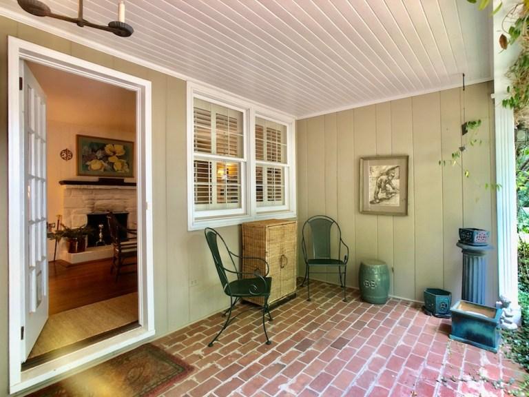 933 Kearns Ave, Buena Vista, WS back porch