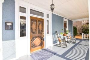 825 W 6th St, Historic West End, Winston Salem, front porch