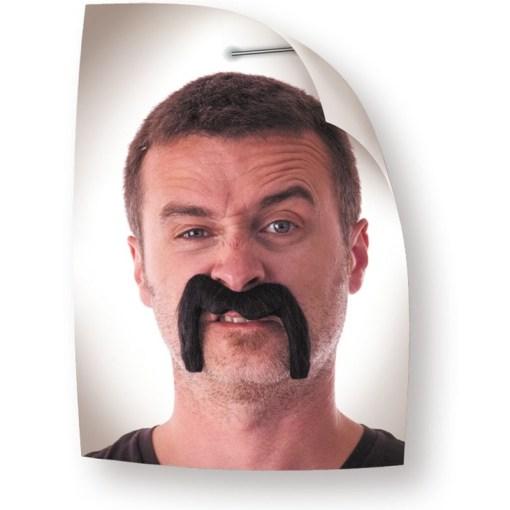 moustaches Watson noires