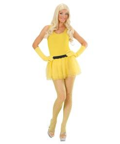 tutu jaune fluo