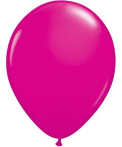 ballons fuchsias