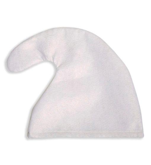 chapeau blanc de 30 cms