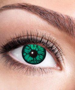 lentilles monstre vert