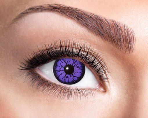 lentilles monstre violet