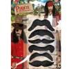set moustache noires
