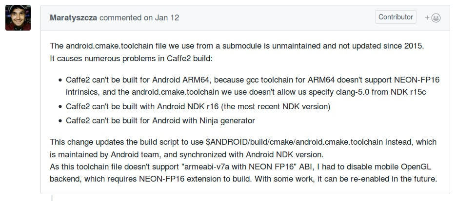 How To Enable GPU Acceleration In Caffe2 For Android - CAMELEONX