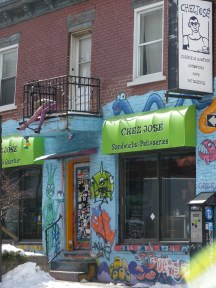 Rue originale de Montréal