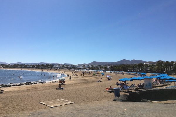 Playa Los Pocillos