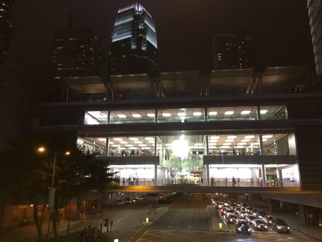 Apple IFC Mall Hong Kong