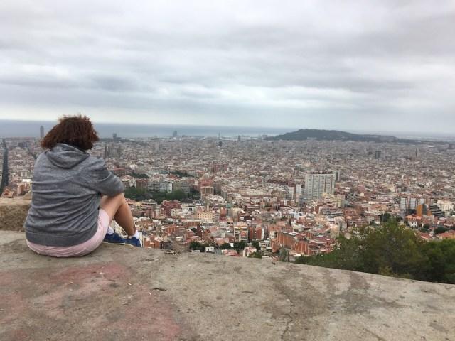 Enjoying The Spectacular View Turó de la Rovira