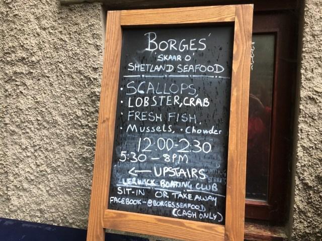 Borges Pop Up Restaurant