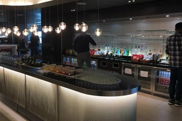 BA lounge Gatwick