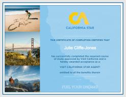 California Star diploma