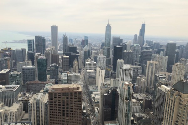Chicago Skycrapers 360 Observatory