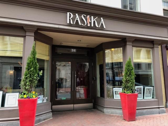 Rasika Penn Quarter Washington DC