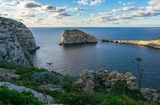 Beautiful scenery in Gozo